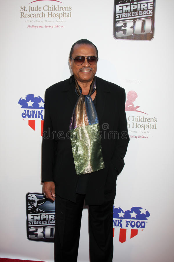 Billy Dee Williams royalty-vrije stock foto