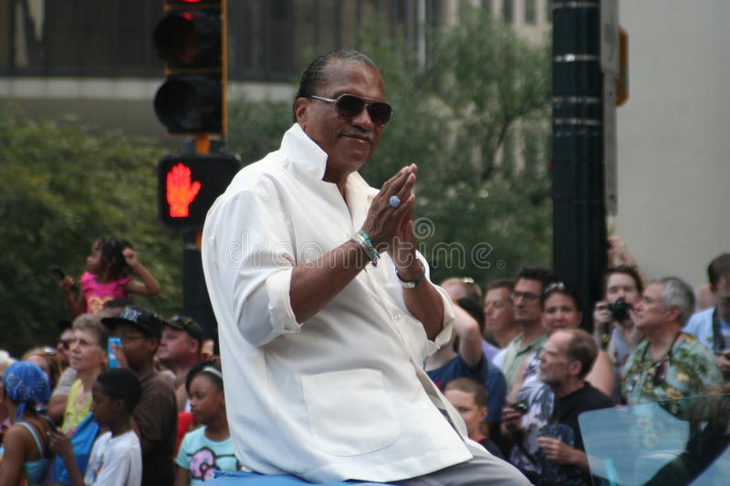 Billy Dee Williams royalty-vrije stock fotografie