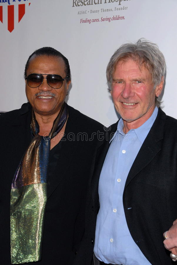 Billy Dee Williams, Harrison Ford photos stock