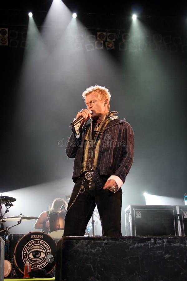 Billy Idol στοκ φωτογραφία με δικαίωμα ελεύθερης χρήσης