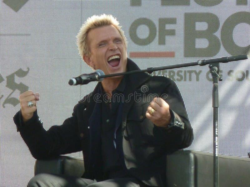 Billy Idol lizenzfreies stockbild