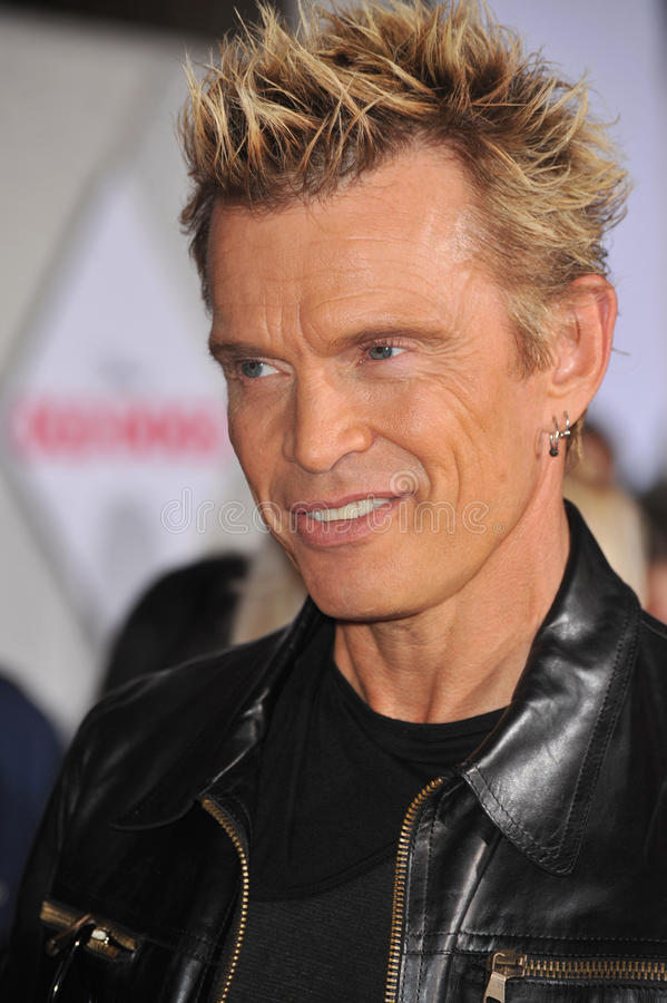 Billy Idol. At the world premiere of Walt Disney's 'Old Dogs' at the El Capitan Theatre, Hollywood. November 9, 2009 Los Angeles, CA Picture: Paul Smith / royalty free stock photography