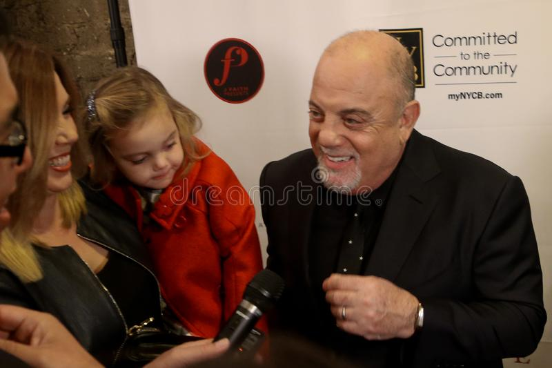 Billy Joel immagine stock