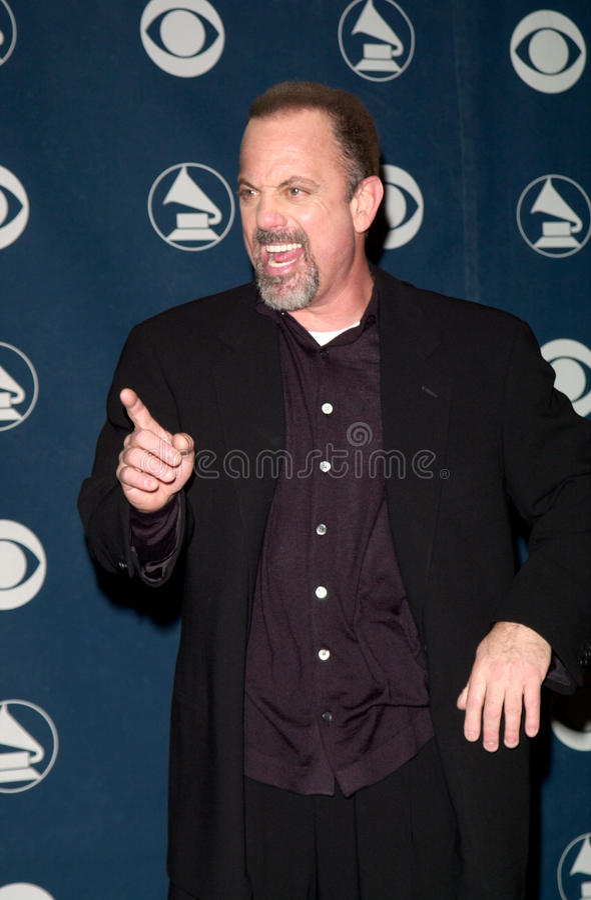 Billy Joel stock afbeelding