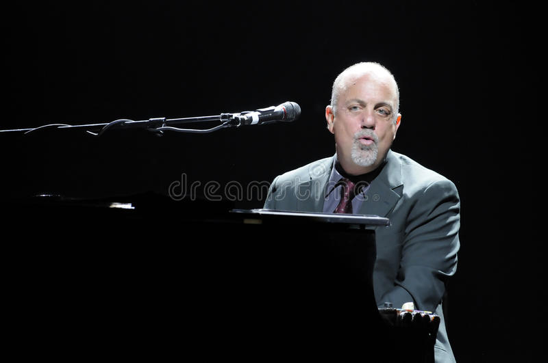Download Billy Joel Performing Live. Editorial Stock Image - Image of musician, angeles: 12310349