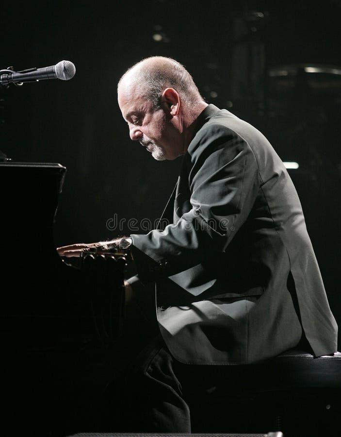 Billy Joel Performs de concert images stock