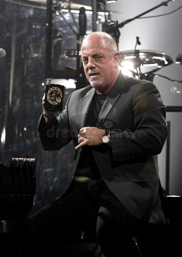Billy Joel Performs in Overleg royalty-vrije stock fotografie