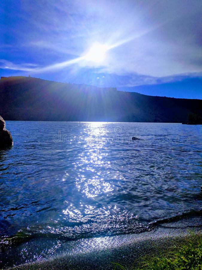 Billy Lake Chinook imagens de stock royalty free