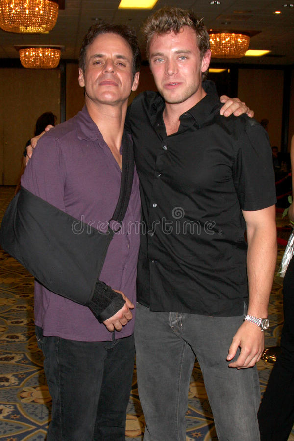 Billy Miller, Christian LeBlanc photo stock