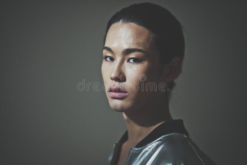 Billy Munkh, Mongools Model stock fotografie