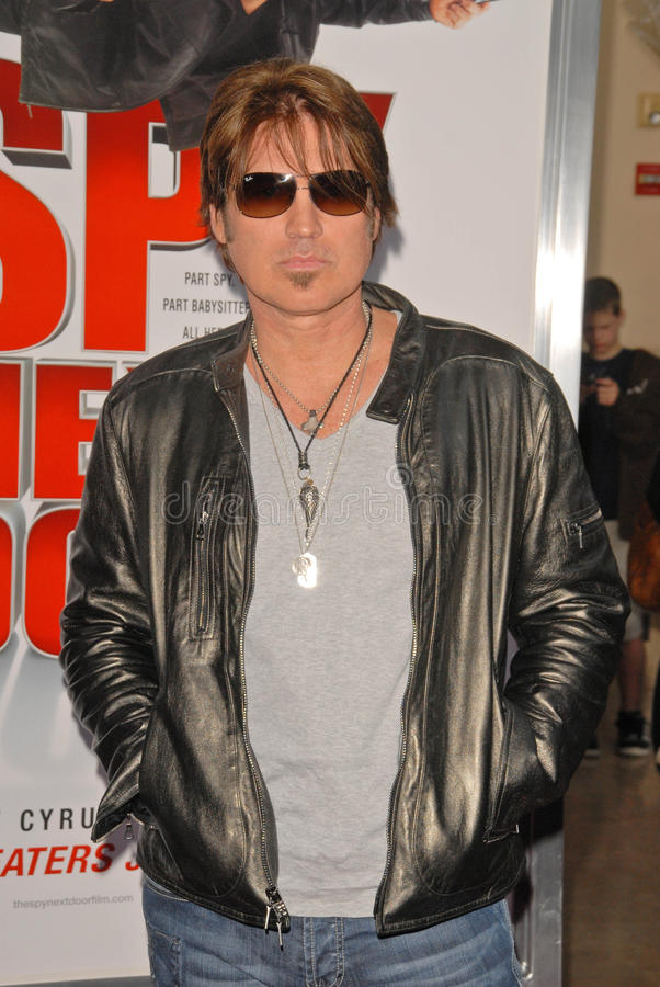 Billy Ray, Billy Ray Cyrus photo libre de droits