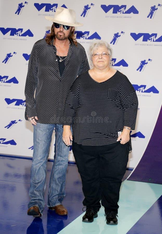 Billy Ray Cyrus e Susan Bro foto de stock