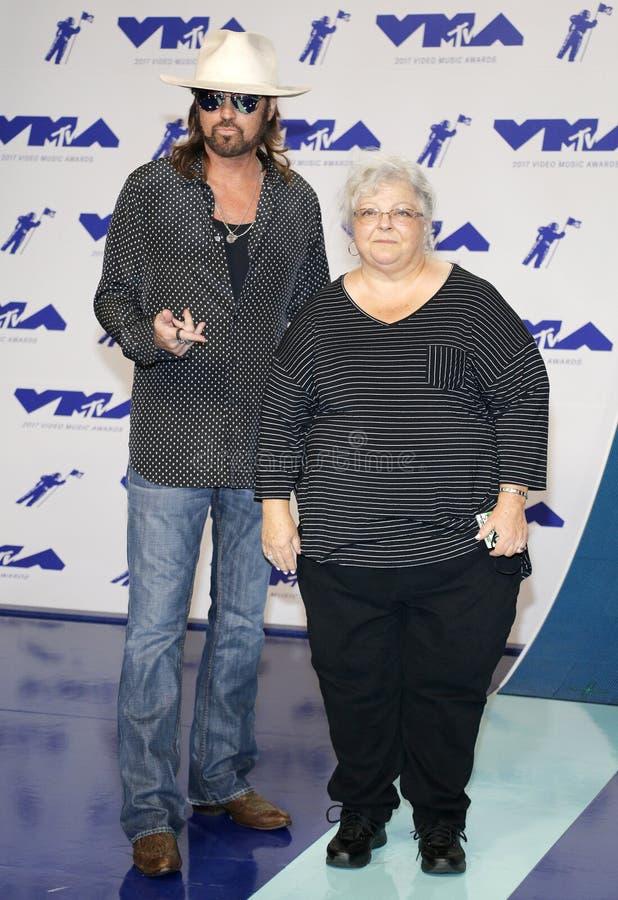 Billy Ray Cyrus e Susan Bro foto de stock royalty free