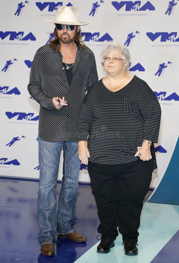 Billy Ray Cyrus et Susan Bro image libre de droits