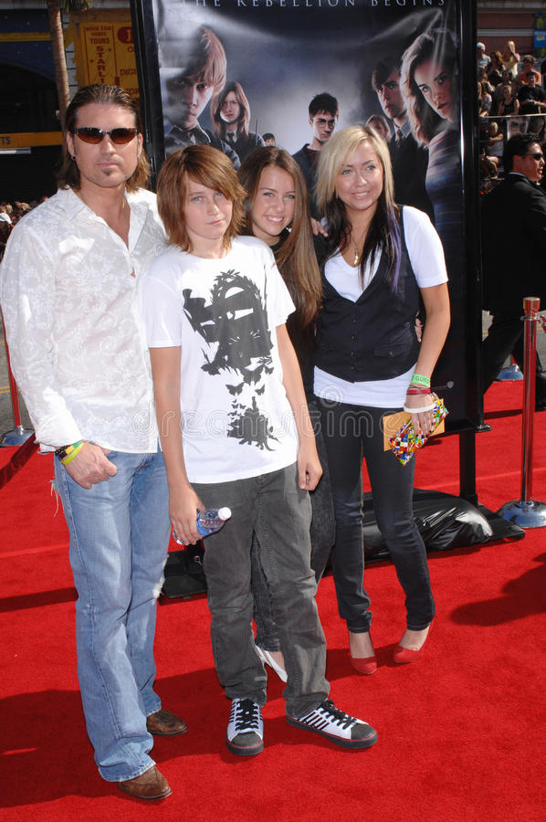 Download Billy Ray Cyrus, Miley Cyrus Editorial Stock Photo - Image: 24290093