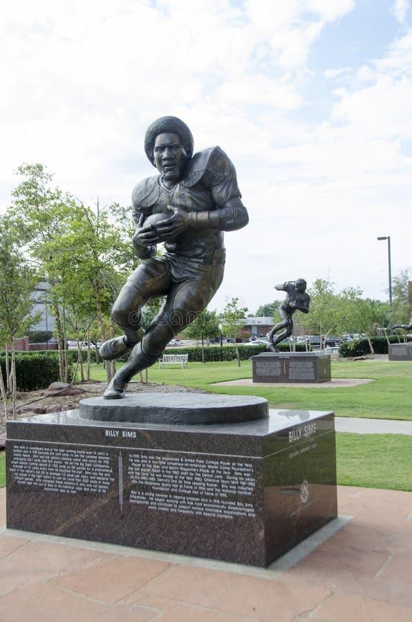 Billy Sims staty royaltyfri foto