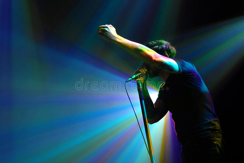 Billy Talent stock afbeelding
