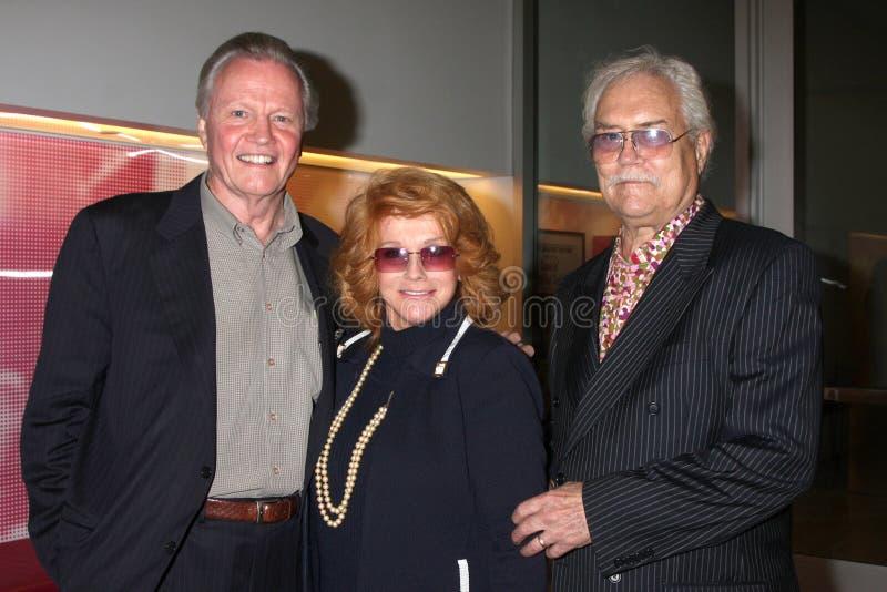 Billy Wilder, Ann-Margret, Jon Voight, Roger Smith fotografia de stock royalty free