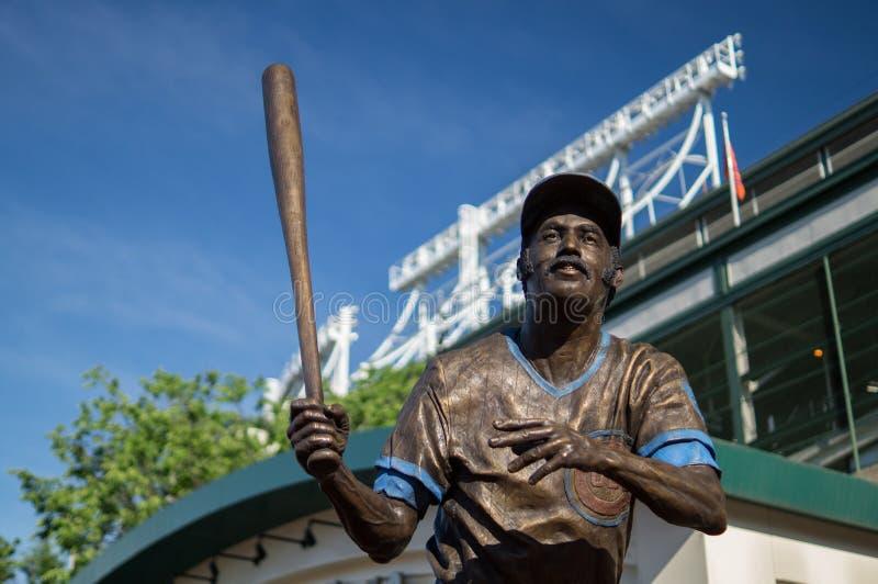 Billy Williams Statue fotografia stock