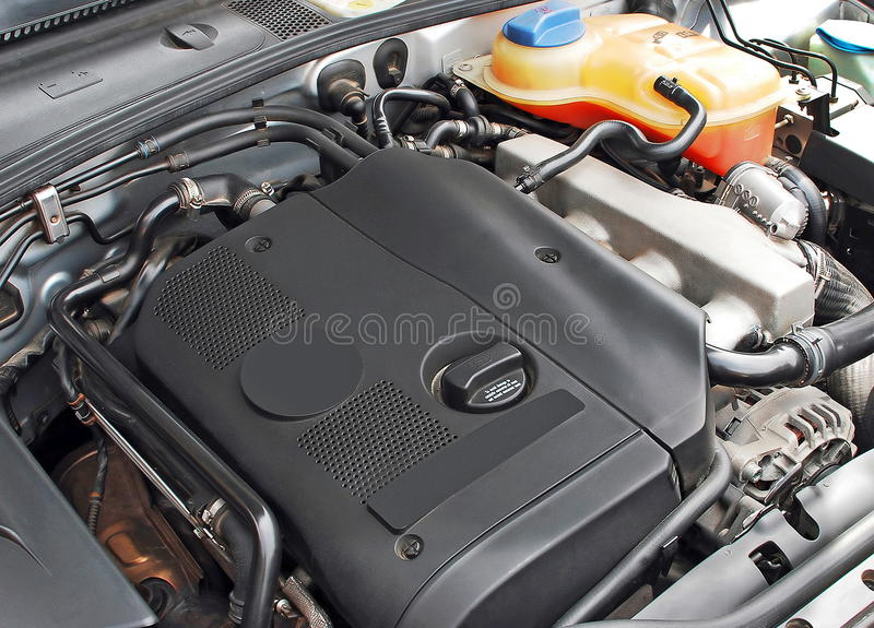 bilmotor turbo arkivbilder