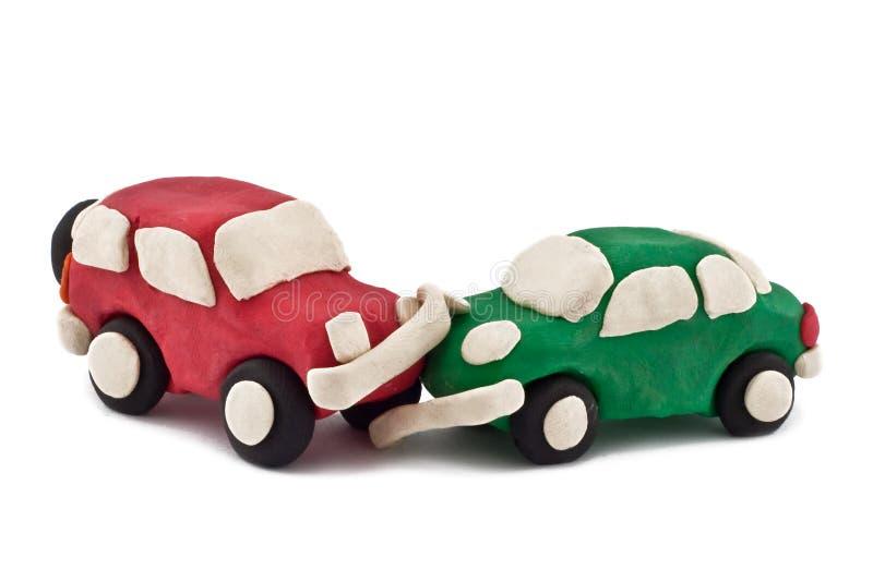 Bilolycka fotografering för bildbyråer
