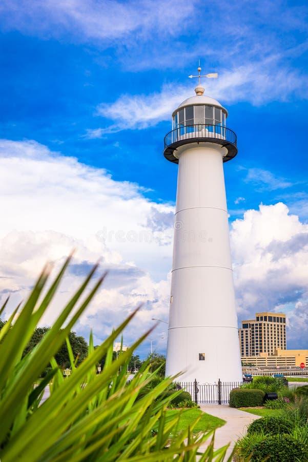 Biloxi,密西西比,美国 免版税库存照片