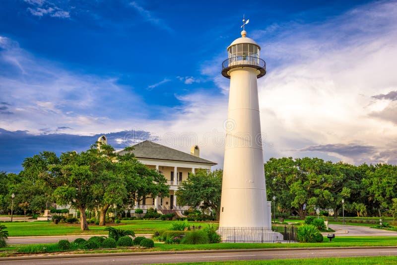 Biloxi,密西西比,美国 免版税库存图片