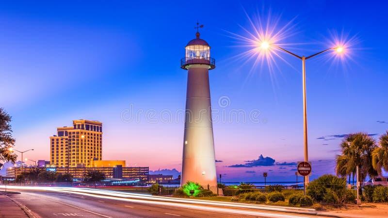 Biloxi, de Mississippi, de V.S. stock foto