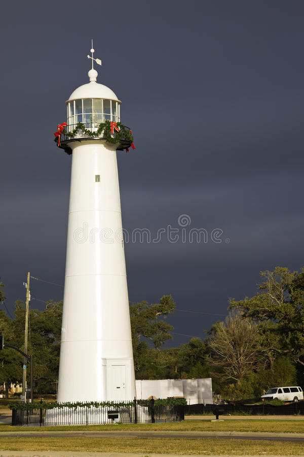 Biloxi Leuchtturm stockfoto