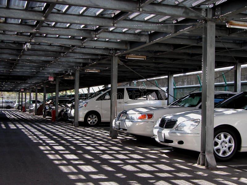 Bilparkering Royaltyfria Bilder