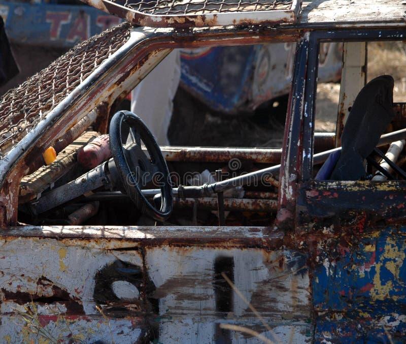 Bilrace för överlevnad royaltyfria foton