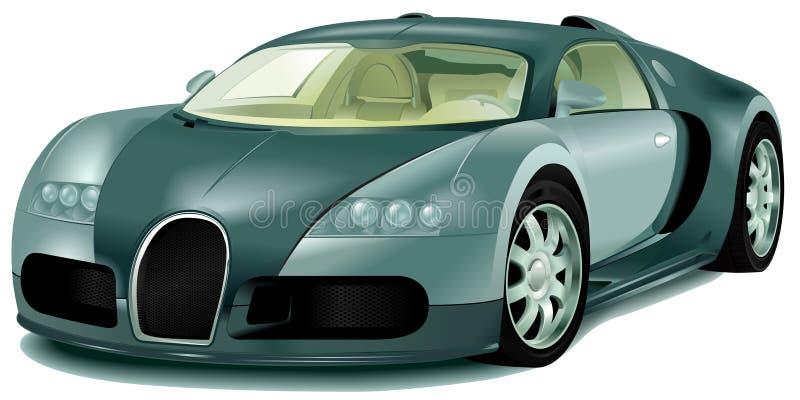 bilsport royaltyfri illustrationer