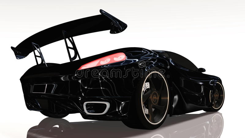 bilsportar stock illustrationer