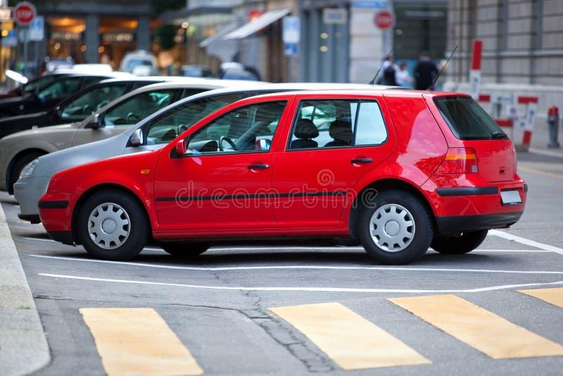 bilstadsgata fotografering för bildbyråer