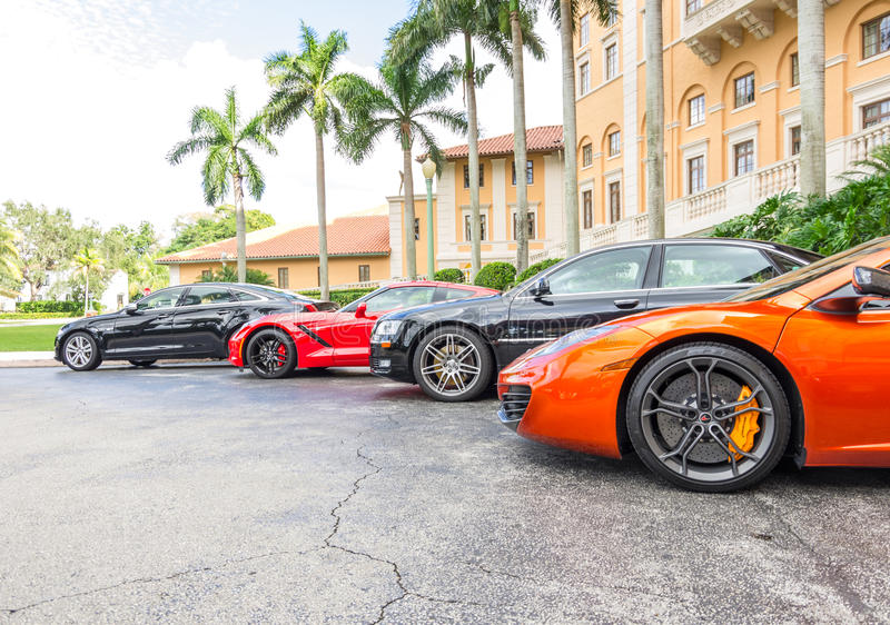 Biltmore hotell, Miami fotografering för bildbyråer