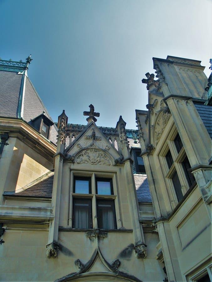 Biltmore hus arkivbild