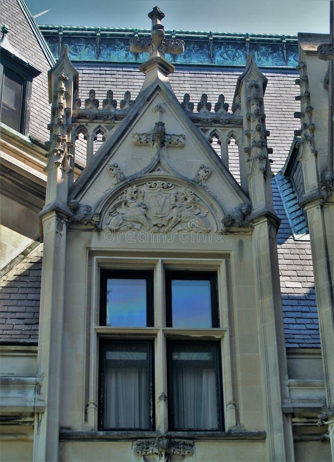 Biltmore hus royaltyfri foto
