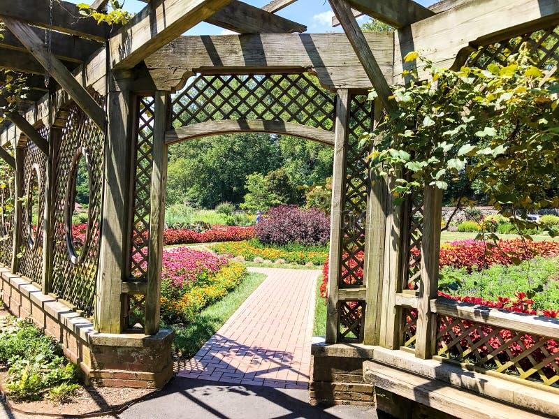 Biltmore ogródy obraz stock