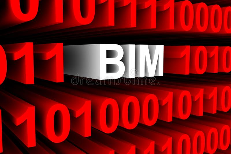 BIM stock illustrationer