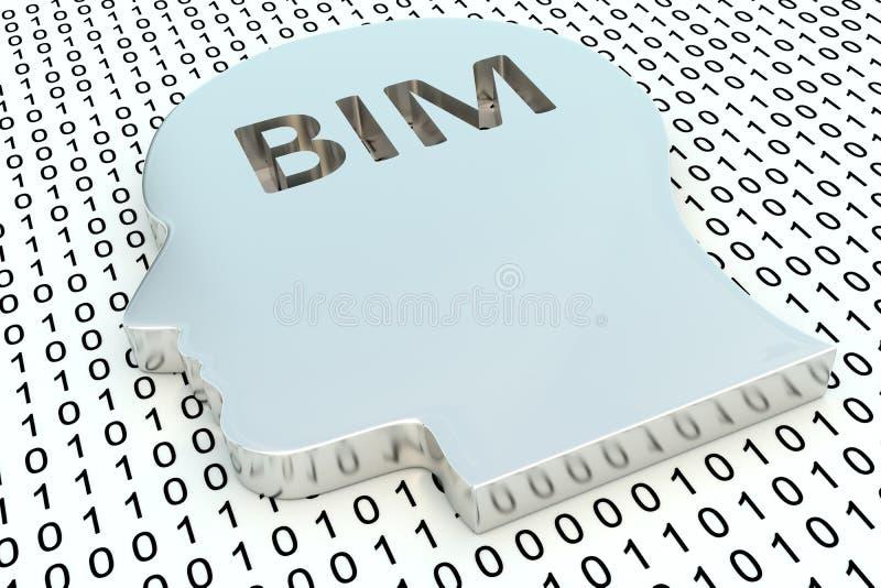 BIM stock de ilustración