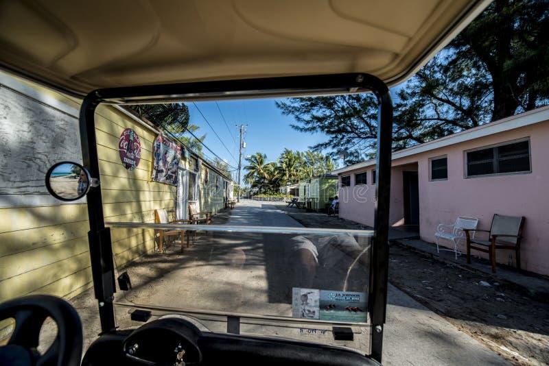 Bimini巴哈马街道 免版税库存照片