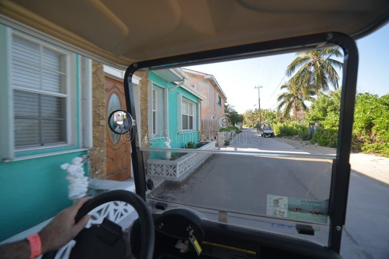 Bimini巴哈马街道  图库摄影