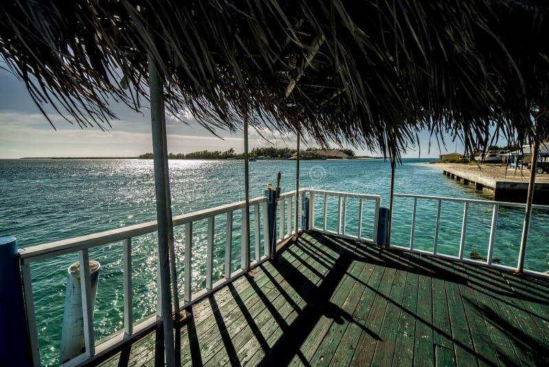 Bimini idsland的船坞  免版税图库摄影