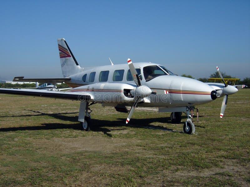 bimotor αεροσκαφών στοκ εικόνες με δικαίωμα ελεύθερης χρήσης