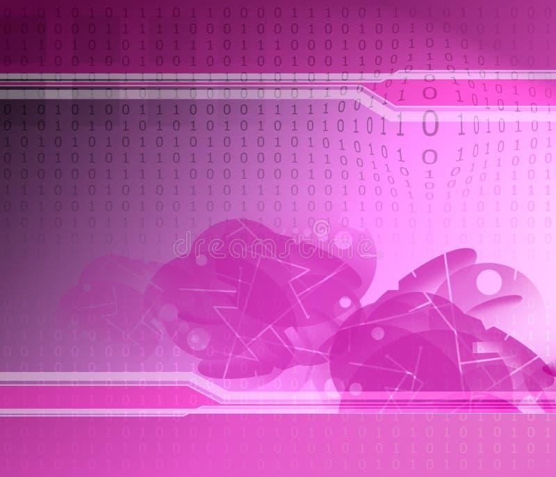 Binär Code-Beschaffenheit stockfoto