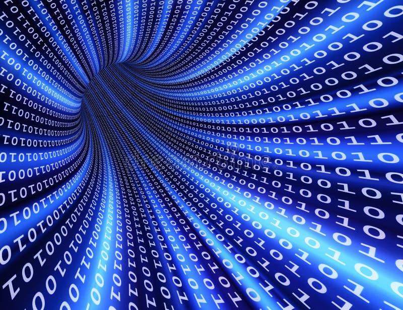 binär futuristic tunnel
