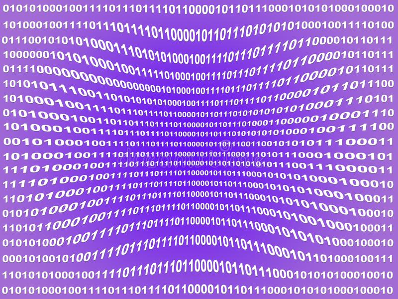 binära data arkivfoto