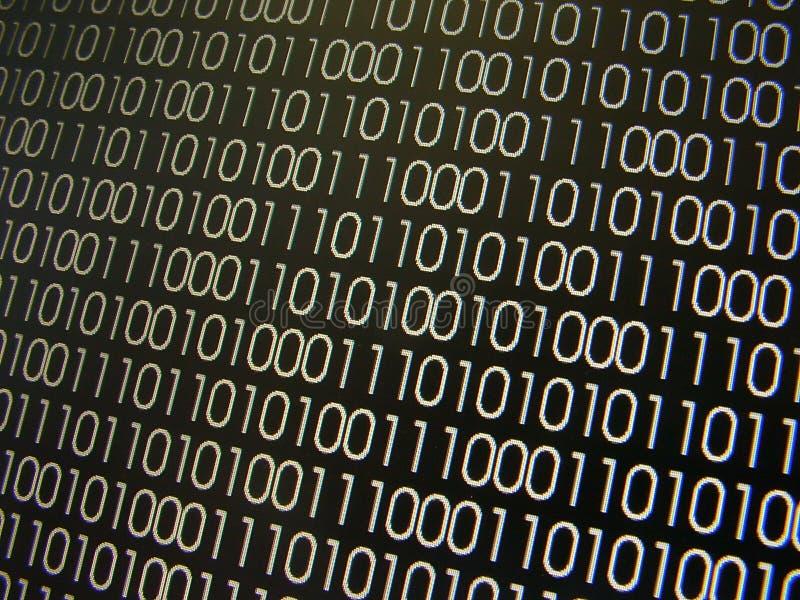 Binäre Codes stock abbildung