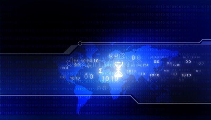 Binäre Welt lizenzfreie stockfotos