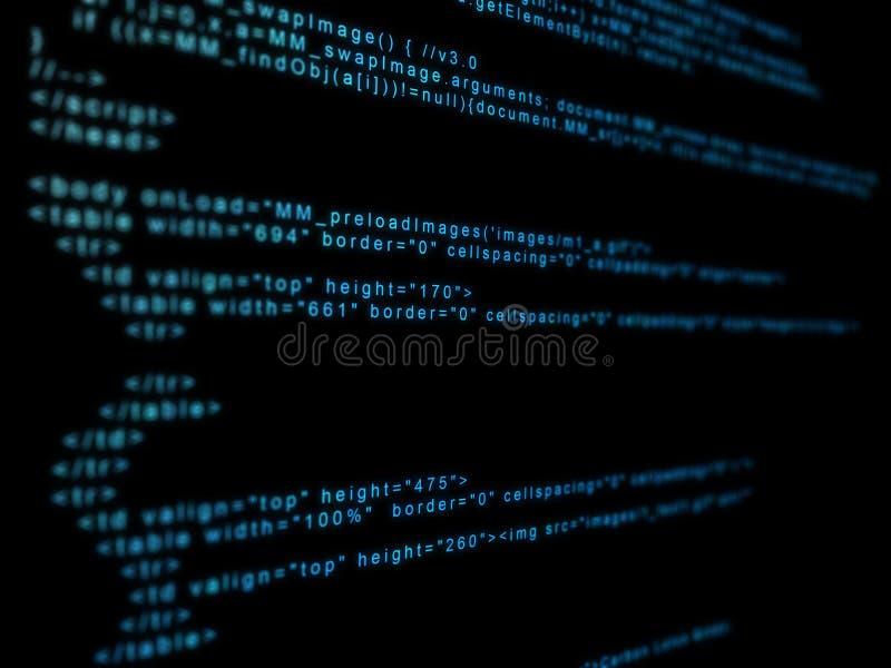 Binärer Code lizenzfreie abbildung